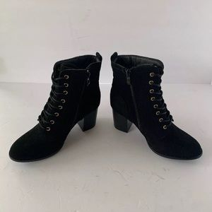 Journee Collection Shoes - journee collection Black Platform Lace Up Boots